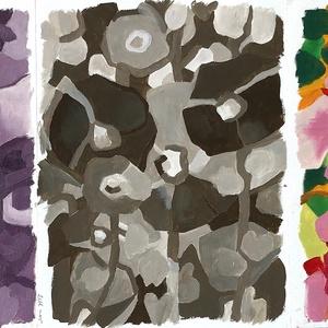 3 festmény egyben - 2 olaj, 1 akril, Otthon & lakás, Képzőművészet, Festmény, Akril, Dekoráció, Kép, Olajfestmény, Festészet, Kb. 31 x 22 centisek a festmények egyenként. Mindegyik ugyanazt ábrázolja, csak más-más színvilágban..., Meska