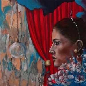 törékeny álom - akrilfestmény, Művészet, Festmény, Akril, Festészet, 40 x 40 centis akrilfestmény feszített vásznon, keret nélkül.\n\nSzemélyes átvétel a 18. kerületben. P..., Meska