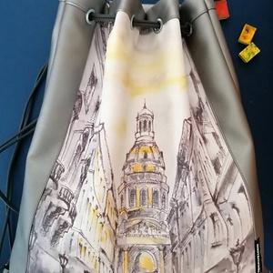 Unisex Budapest hátizsák a Szent István Bazilikával - Meska.hu