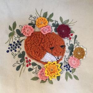 Alvó róka táska (kiseri) - Meska.hu