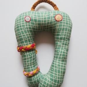 Zöld szörnyecse (KiskockaNagykocka) - Meska.hu