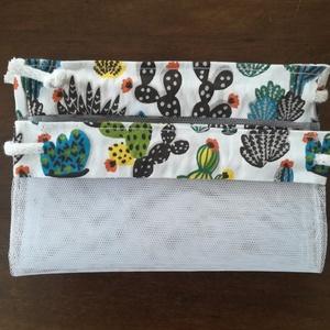 2 kis kaktuszos zacsi (KiskockaNagykocka) - Meska.hu