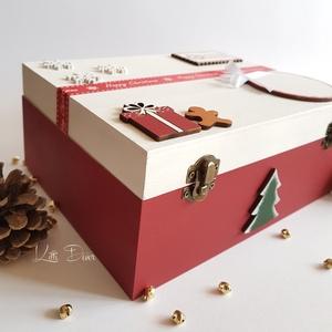 Karácsonyi doboz- Classic Christmas style (KittiDecor) - Meska.hu