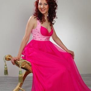 Pink maxi ruha (kiwi) - Meska.hu