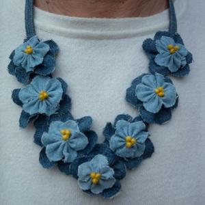 Farmer virágok - nyaklánc (klara55) - Meska.hu