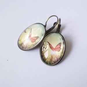 !!!AKCIÓ!!! Pillangó fülbevalók (klarion) - Meska.hu