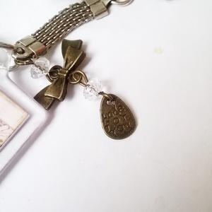 Vintage kulcstartó (klarion) - Meska.hu