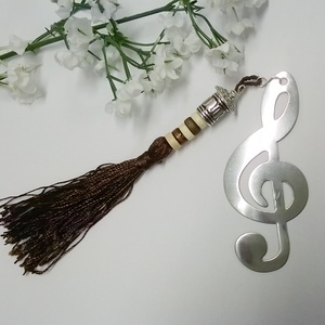 Violin kulcs könyvjelzô (klarion) - Meska.hu