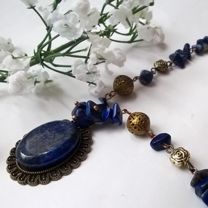 Lapis lazuli  nyakék (klarion) - Meska.hu