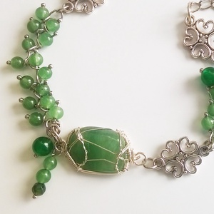 Jade karkötő (klarion) - Meska.hu