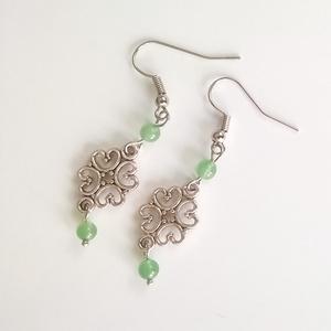 Jade fülbevaló (klarion) - Meska.hu