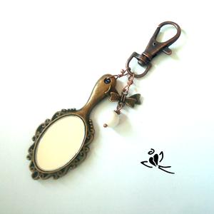 Tükör kulcstartó (klarion) - Meska.hu