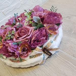 Selyemvirág asztaldísz (Klaudecor) - Meska.hu