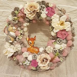 Disney Bambi kopogtató (Klaudecor) - Meska.hu