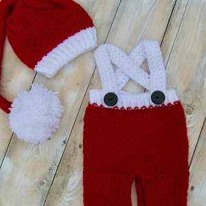 Karácsonyi manó szett (knitery) - Meska.hu 11c72e850d