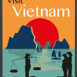 Vietnám poszter, Otthon & lakás, Lakberendezés, Falikép, Fotó, grafika, rajz, illusztráció, A3-as méretben, fekete kerettel (plexi üveggel)\n, Meska