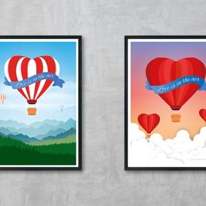Szerelem, ajándék, Valentin-napi, Bálint-napi, Évfordulós, Otthon & lakás, Képzőművészet, Napi festmény, kép, Grafika, Fotó, grafika, rajz, illusztráció, Egyedi, saját tervezésű nyomat. Valentin napra. évfordulóra vagy csak úgy lakás dekorálás céljára. 2..., Meska