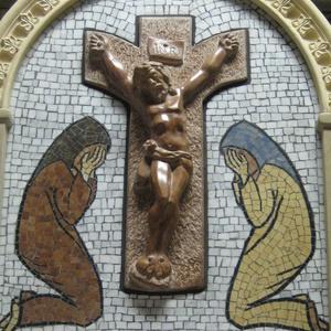Házi oltár mozaik kép (kobirodalom) - Meska.hu