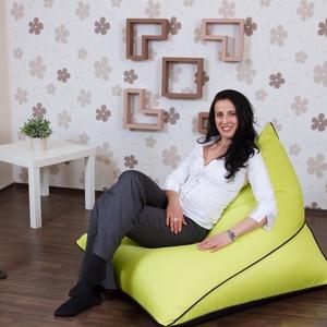Elegáns, különleges, egyedi tervezésű babzsákfotel felnőtteknek, kültéri és beltéri babzsák fotel, Bútor, Otthon & lakás, Babzsák, Szék, fotel, Lakberendezés, Varrás, Elegáns, különleges, egyedi tervezésű, kültéren és beltéren egyaránt használható babzsák fotel felnő..., Meska