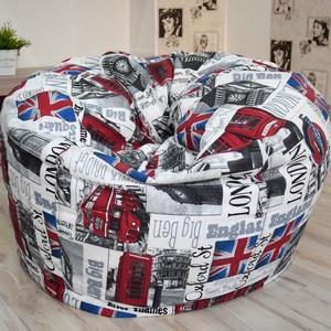Design babzsák fotel felnőtteknek és tiniknek, London babzsákfotel felnőtteknek, óriás dizájn babzsák, Bútor, Otthon, lakberendezés, Babzsák, Varrás, Egyedi tervezésű, design babzsák fotel felnőtteknek.   A fotel erős, strapabíró anyagból és cérnáva..., Meska