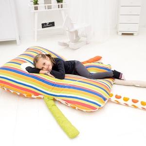 Bendegúz - óriás babzsák padlópárna gyerekeknek, Gyerek & játék, Gyerekszoba, Babzsák, Bútor, Otthon & lakás, Varrás, Bendegúz egy kedves, mindig mosolygó babzsák padlópárna.\n\nKényelmes, puha és a hideg padlón nagyon p..., Meska
