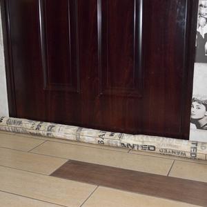 Huzatfogó kígyó, szélfogó kígyó ablakba, ajtóba, egyedi méretre (100-150 cm) (kolyokdzsungel) - Meska.hu