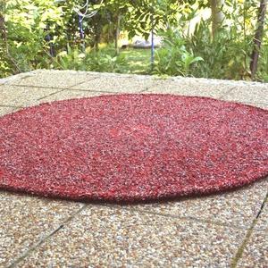 Világközepe - horgolt kör alakú szőnyeg (komodorka) - Meska.hu