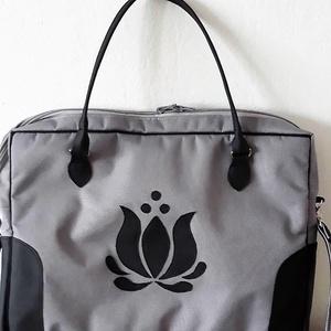 Cordura/textilbőr Laptoptáska tulipán motivummal (Koreni) - Meska.hu