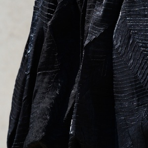 Fekete nyakbakötős ruha - ruha & divat - női ruha - ruha - Meska.hu