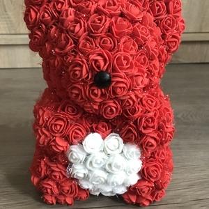Örök maci, Csokor & Virágdísz, Dekoráció, Otthon & Lakás, Mindenmás, Sziasztok! \nHa szeretnétek kézzel készült virág macikat ajándékozni ismerősötöknek, ami tökéletes aj..., Meska