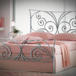 140x200 kovácsoltvas ágy keret, Otthon & Lakás, Bútor, Ágy, Fémmegmunkálás, Kovácsoltvas, Meska