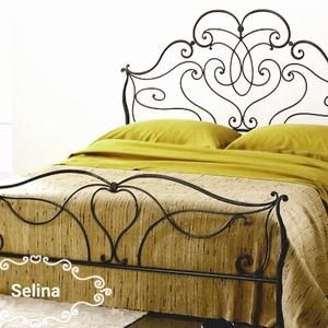 140x200  Ágykeret Selina, Otthon & Lakás, Bútor, Ágy, Fémmegmunkálás, Kovácsoltvas, Meska