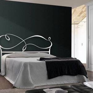 140x200 kovácsoltvas ágy keret - Meska.hu