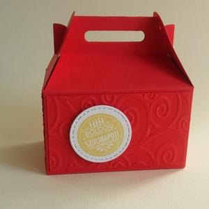 Színes dobozka ajándéknak, Egyéb, Naptár, képeslap, album, Otthon & lakás, Ajándékkísérő, Papírművészet, Színes papírdobozka, melybe ajándék rejthető.\nKülönböző színekben és díszítéssel kérhető, az itt lát..., Meska