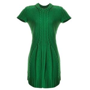 Kézzel kötött ruha, Ruha, Női ruha, Ruha & Divat, Kötés, Kézi kötéssel készült a fotón látható ruha. Különleges mintája karcsusító hatású. Olasz 100% vékony ..., Meska