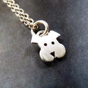 Mini kutya nyaklánc (Kreagora) - Meska.hu