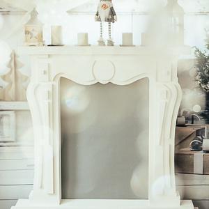 Álkandalló, Otthon & Lakás, Bútor, Más bútor, Újrahasznosított alapanyagból készült termékek, Nagy álkandalló eladó, habból vágott, egyedi készítésű.\n\nKiváló családi fotózáshoz is a méretei miat..., Meska