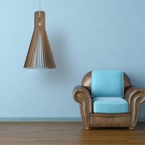 Nagy méretű fa lámpa AKCIÓ!, Otthon & Lakás, Lámpa, Fali & Mennyezeti lámpa, Famegmunkálás, Meska