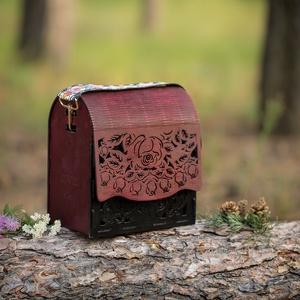 Rose fa táska, Táska & Tok, Famegmunkálás, Meska
