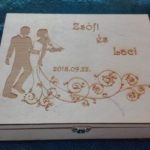 12 rekeszes teás doboz egyedi mintával (kreativajandek) - Meska.hu