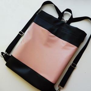 Fekete és rózsaszín táska (kreativvarazs) - Meska.hu