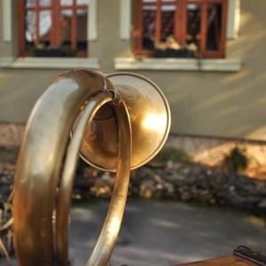 Rézkürt asztali lámpa (Kristof0910) - Meska.hu