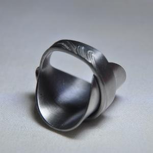 Elegáns kiskanál hajtott gyűrű (GY135) (Kristof0910) - Meska.hu