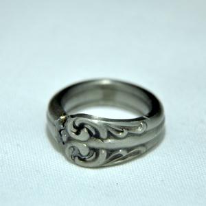 Elegáns fém gyűrű (GY228), Ékszer, Gyűrű, Kerek gyűrű, Ékszerkészítés, Fémmegmunkálás, Meska