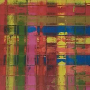 Balatoni hajnal, Otthon & lakás, Képzőművészet, Festmény, Festmény vegyes technika, Festészet, Vastag kartonra készült alkotás.Mérete:50cm×50cm., Meska