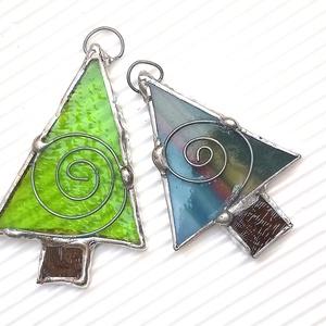 2 db-os Tiffany karácsonyfa csomag (KriszDea) - Meska.hu