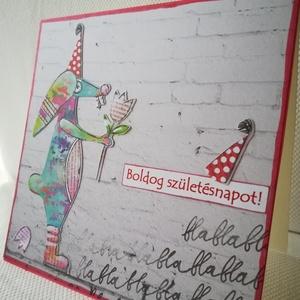 Art by Marlene után szabadon - Képeslap csomag 3 db, Otthon & Lakás, Papír írószer, Képeslap & Levélpapír, Papírművészet, 3 db egyedi, saját készítésű kézműves képeslap, 3 db borítékkal. A csomagban lévő 2 lap az átlagosná..., Meska
