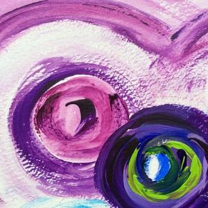 Színes világ- festmény - művészet - festmény - akril - Meska.hu