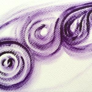 Egyben- festmény, Képzőművészet, Otthon & lakás, Festmény, Dekoráció, Lakberendezés, Festészet, 10,5x15  cm-es olaj festmény.\n\nEredeti, egyedi festmény, adott pillanat érzelmeit fejezi ki.\n\nMásola..., Meska