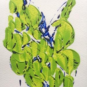 Tavaszra-várva-2 festmény, Művészet, Akril, Festmény, Festészet, Meska